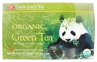 Uncle Lee's Tea - Legends of China Green Tea Organic - 100 Tea Bags by Uncle Lee's Tea