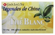 Uncle Lee's Tea - Legends of China White Tea - 100 Tea Bags (892241000662)