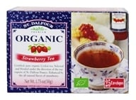 St. Dalfour - Deluxe Premium Organic Tea Strawberry - 25 Tea Bags by St. Dalfour