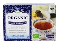 St. Dalfour - Deluxe Premium Organic Tea Classic Breakfast - 25 Tea Bags, from category: Teas