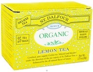 Image of St. Dalfour - Deluxe Premium Organic Tea Lemon - 25 Tea Bags