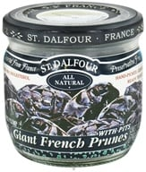 St. Dalfour - Super Plump Giant French Prunes with Pits - 7 oz., from category: Health Foods