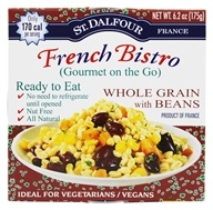 St. Dalfour - Gourmet On The Go Ready To Eat Whole Grain with Beans - 6.2 oz., from category: Health Foods
