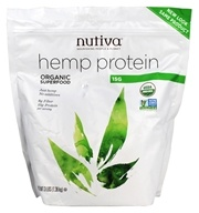 Nutiva - Organic Hemp Protein 15g - 3 lbs., from category: Health Foods