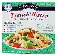 St. Dalfour - Gourmet On The Go Ready To Eat Pasta & Vegetables - 6.2 oz., from category: Health Foods