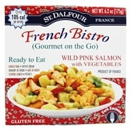 St. Dalfour - Gourmet On The Go Ready To Eat Wild Alaskan Salmon - 6.2 oz., from category: Health Foods