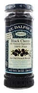 Image of St. Dalfour - Fruit Spread 100% Natural Jam Black Cherry - 10 oz.