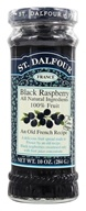 St. Dalfour - Fruit Spread 100% Natural Jam Black Raspberry - 10 oz., from category: Health Foods