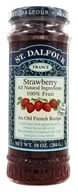 St. Dalfour - Fruit Spread 100% Natural Jam Strawberry - 10 oz.