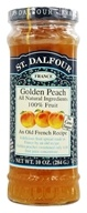 St. Dalfour - Fruit Spread 100% Natural Jam Golden Peach - 10 oz. (084380957642)