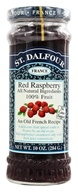 St. Dalfour - Fruit Spread 100% Natural Jam Red Raspberry - 10 oz. (084380957741)