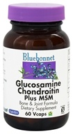 Bluebonnet Nutrition - Glucosamine Chondroitin Plus MSM - 60 Vegetarian Capsules, from category: Nutritional Supplements
