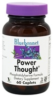 Image of Bluebonnet Nutrition - Power Thought Phosphatidylserine Formula - 60 Caplets