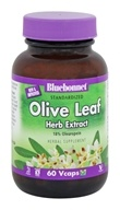 Image of Bluebonnet Nutrition - Herbals Olive Leaf Extract 300 mg. - 60 Vegetarian Capsules