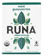 Runa - Amazonian Guayusa Mint - 16 Tea Bags, from category: Teas