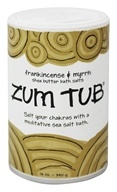 Indigo Wild - Zum Tub Shea Butter Bath Salts Frankincense & Myrrh - 12 oz. (663204219304)
