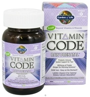 Garden of Life - Vitamin Code Raw Prenatal - 30 Vegetarian Capsules by Garden of Life