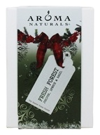 Aroma Naturals - Evergreen Holiday Soy VegePure Square Glass Eco-Candle Juniper, Spruce & Basil