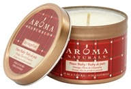 Image of Aroma Naturals - Peace Ruby Holiday Soy VegePure Small Travel Tin Eco-Candle Orange, Clove and Cinnamon