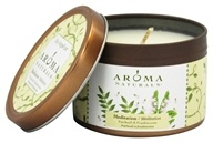 Aroma Naturals - Meditation Soy VegePure Small Travel Tin Eco-Candle Patchouli & Frankincense