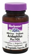 Bluebonnet Nutrition - Acidophilus Plus FOS Milk-Free Probiotic - 50 Vegetarian Capsules, from category: Nutritional Supplements