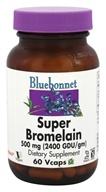 Bluebonnet Nutrition - Super Bromelain 2400 GDU 500 mg. - 60 Vegetarian Capsules by Bluebonnet Nutrition