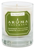 Image of Aroma Naturals - Meditation Soy VegePure Votive Glass Eco-Candle Patchouli & Frankincense