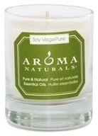 Aroma Naturals - Meditation Soy VegePure Votive Glass Eco-Candle Patchouli & Frankincense by Aroma Naturals