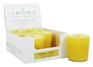 Aroma Naturals - Ambiance Naturally Blended Votive Eco-Candle Orange & Lemongrass