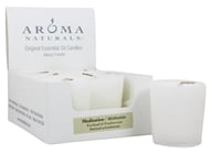 Image of Aroma Naturals - Meditation Naturally Blended Votive Eco-Candle Patchouli & Frankincense