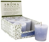 Aroma Naturals - Tranquility Naturally Blended Votive Eco-Candle Wildcrafted Lavender by Aroma Naturals