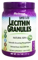 Bluebonnet Nutrition - Natural Soya Lecithin Granules - 1 lb. - $14.36