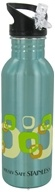 Image of New Wave Enviro Products - Flip N' Sip Stainless Steel Water Bottle Geometric - 0.6 Liter(s) CLEARANCE PRICED