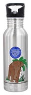 New Wave Enviro Products - Stainless Steel Water Bottle Endangered Species Collection Sumatran Elephant - 20 oz.