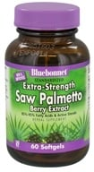 Image of Bluebonnet Nutrition - Standardized Extra-Strength Saw Palmetto Berry Extract 320 mg. - 60 Softgels