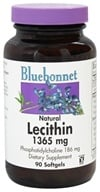 Bluebonnet Nutrition - Natural Lecithin 1365 mg. - 90 Softgels, from category: Nutritional Supplements