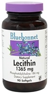 Bluebonnet Nutrition - Natural Lecithin 1365 mg. - 90 Softgels - $9.56
