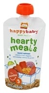 Image of HappyBaby - Organic Baby Food Stage 3 Meals Ages 7+ Months Super Salmon - 4 oz.