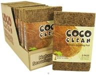 Coco Clean - Nature's Scouring Pad - 3 Pad(s), from category: Housewares & Cleaning Aids