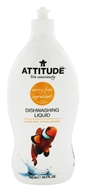 Image of Attitude - Dishwashing Liquid Grapefruit & Bergamot - 23.7 oz.