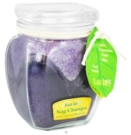 Aloha Bay - Scented Square Top Jar Candle Nag Champa - 13.5 oz.