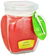 Image of Aloha Bay - Scented Square Top Jar Candle Sunrise - 13.5 oz. CLEARANCE PRICED