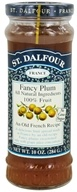 St. Dalfour - Fruit Spread 100% Natural Jam Fancy Plum - 10 oz.