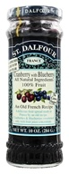 Image of St. Dalfour - Fruit Spread 100% Natural Jam Cranberry with Blueberry - 10 oz.