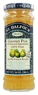 St. Dalfour - Fruit Spread 100% Natural Jam Gourmet Pear - 10 oz. (084380959141)