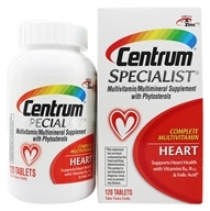 Centrum - Specialist Complete Multivitamin Heart - 120 Tablets - $17.45