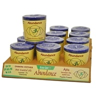 Aloha Bay - Chakra Energy Votive Candle Abundance - 2 oz., from category: Aromatherapy