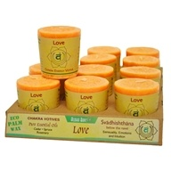 Aloha Bay - Chakra Energy Votive Candle Love - 2 oz., from category: Aromatherapy