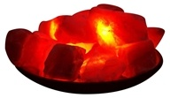 Himalayan Salt - Fire Bowl By Aloha Bay - 8 in.