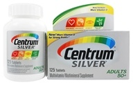 Centrum - Silver Multivitamin/Multimineral for Adults 50+ - 125 Tablets by Centrum
